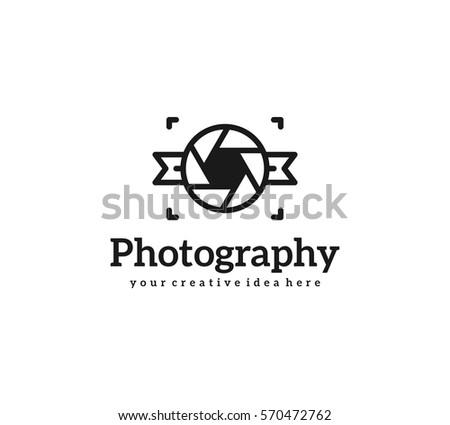 Photography Logo Template Stock Vector (2018) 570472762 - Shutterstock