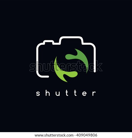 photography logotype - S letter theme