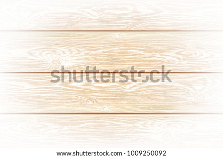 Photorealistic highly detailed vector whitened wooden background. Hand drawn, no tracing.