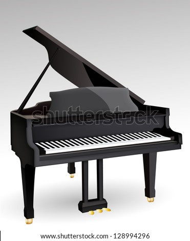 Piano eps10 - stock vector
