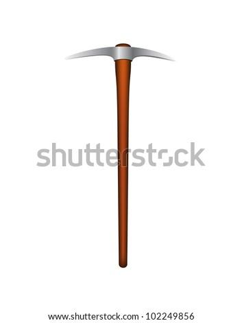 Pick axe - stock vector