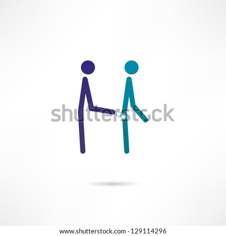 pickpocket  icon - stock vector