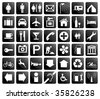 Pictogram vector set - stock vector