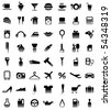 pictograms - stock photo