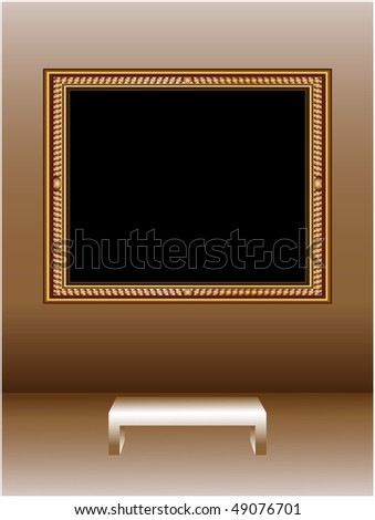 Picture frame - stock vector