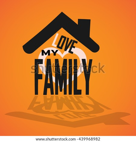 picture of home - stock vector