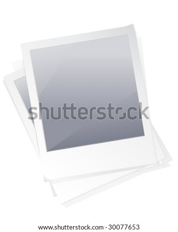 Picture with Mask Layer - Vector Illustration - stock vector