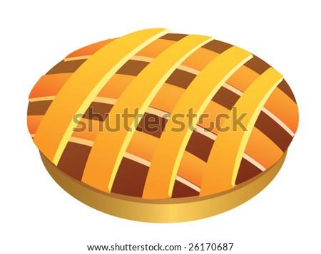 Pie - stock vector