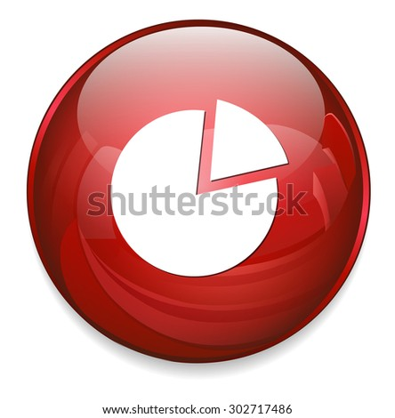 Pie chart button