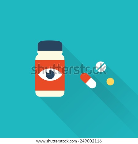 pill icons - stock vector