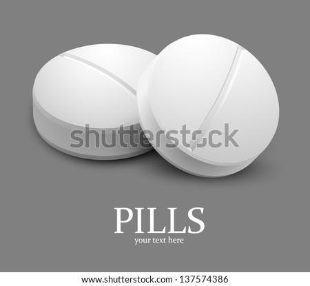 Pills - stock vector