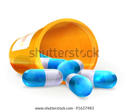 Pills, 10eps - stock vector