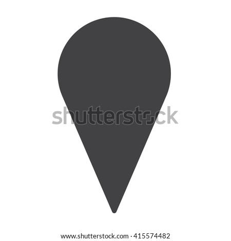 Pin on the map icon, Pin on the map icon Eps10, Pin on the map icon Vector, Pin on the map icon Eps, Pin on map icon Jpg, Pin on the map icon Picture, Pin on the map icon Flat, Pin on the map icon App - stock vector