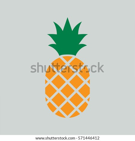 pineapple ananas icon