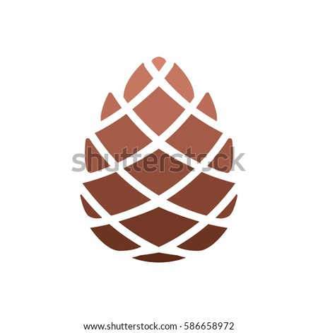 pinecone icon stock images royaltyfree images amp vectors