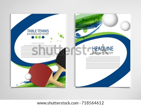 table tennis tournament template - golf club competition tournament template poster