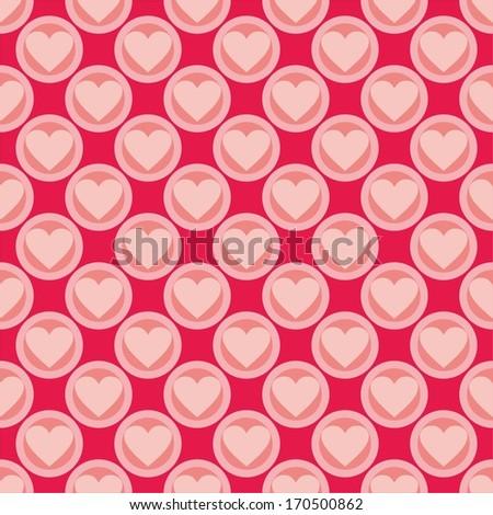 Shining Heart Background Valentine Background Vector Stock Vector ...