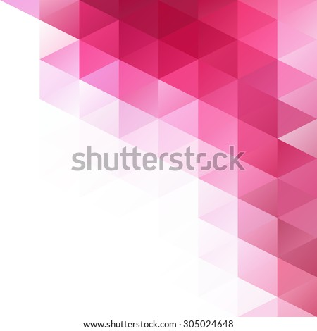 Pink Grid Mosaic Background Creative Design Stock Vector (2018 ...
