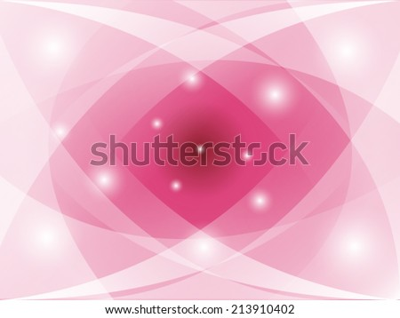 Pink lotus lighten vector illustration - stock vector