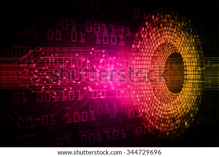pink orange Light Abstract Technology background for computer graphic website internet and business. circuit. illustration. digital. infographics. binary code background. www.vector.Spark.zero one - stock vector