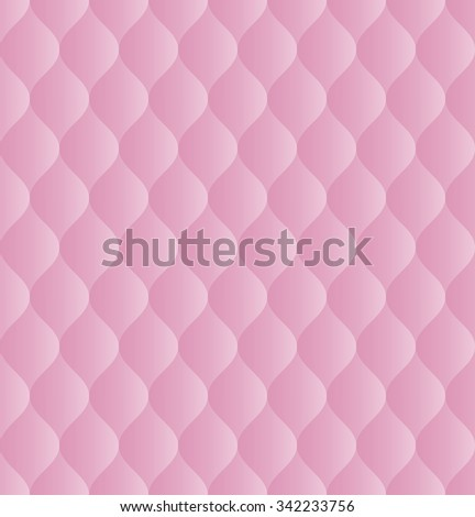 pink pattern seamless or background - stock vector