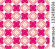 Pink seamless pattern - stock photo