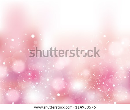 pink shines background - stock vector