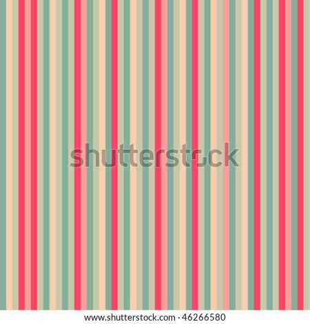 Pink stripes pattern - vector