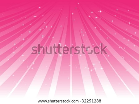 Pink tracks & field - stock vector