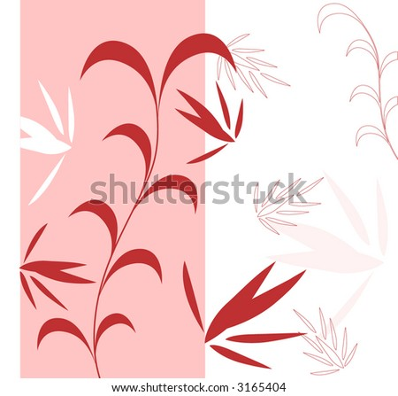 pink white and red  background vector - stock vector