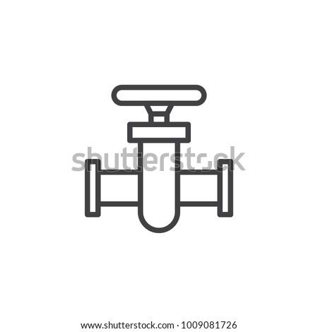 Industrial+valve+symbol