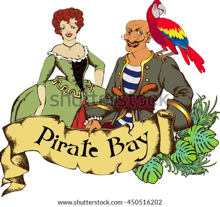 Pirate and his girlfriend