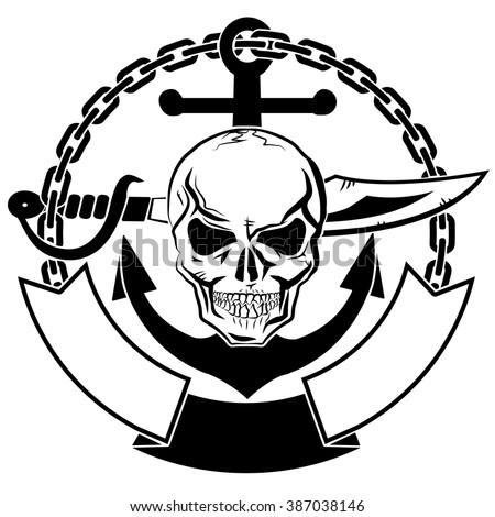 skull marine riot vector stock vector 506919742 - shutterstock