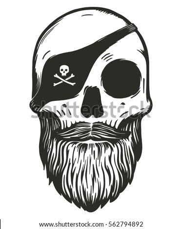 Goonies skull vector