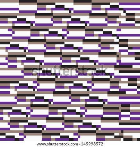 Pixel Pattern - stock vector