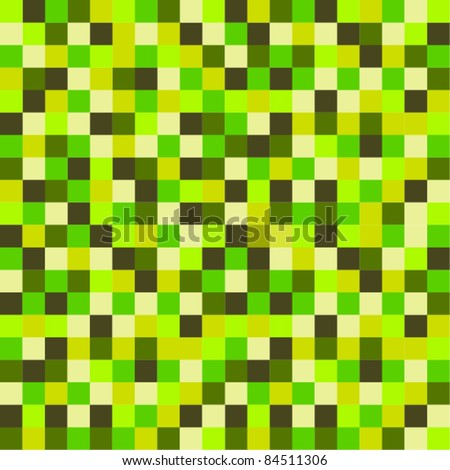 Pixel pattern with stylish color tones
