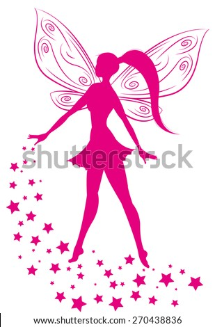 pixie - stock vector