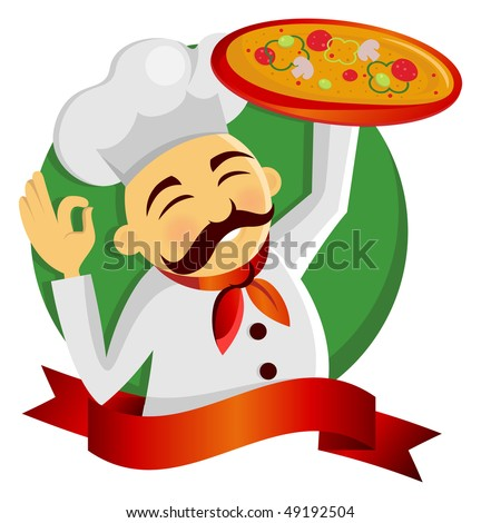 Pizza Chef Logo Pizza Chef Restaurant