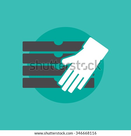Pizza delivery sign - stock vector