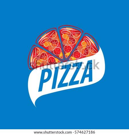 planet pizza logo stock vector 477685873 shutterstock. Black Bedroom Furniture Sets. Home Design Ideas