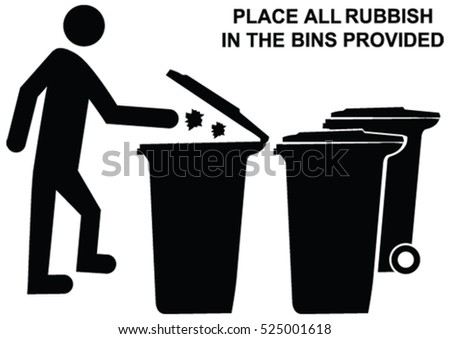 Trash Bin Line Icon Outline Vector Sign Li Style Pictogram Isolated On White