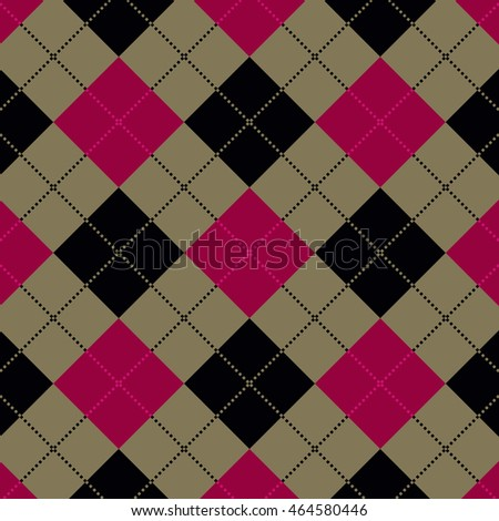 Plaid / gingham seamless pattern / texture