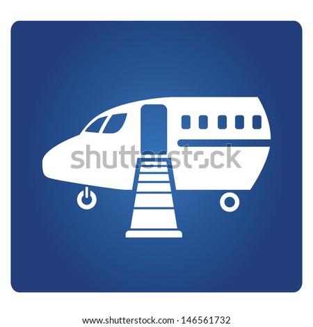 plane  - stock vector