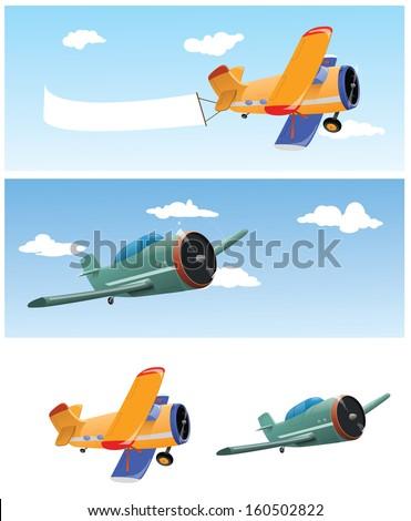 Planes  - stock vector