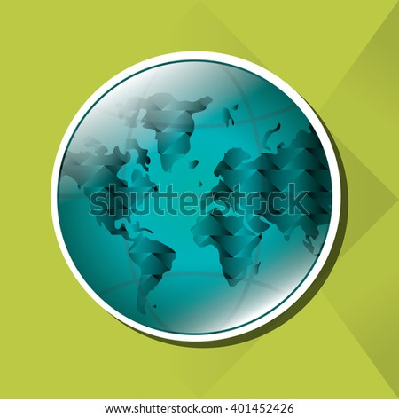 Planet design, Vector illustration