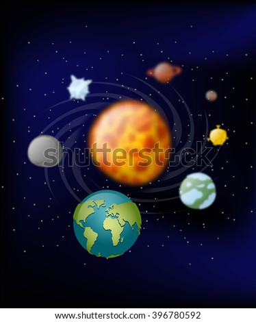 Earths Orbit Around Sun Stock Images, Royalty-Free Images ...