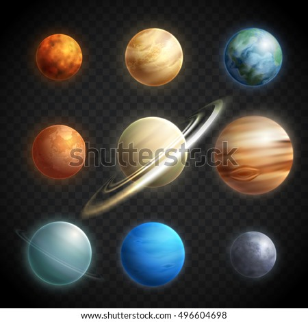 realistic solar system from above - photo #36