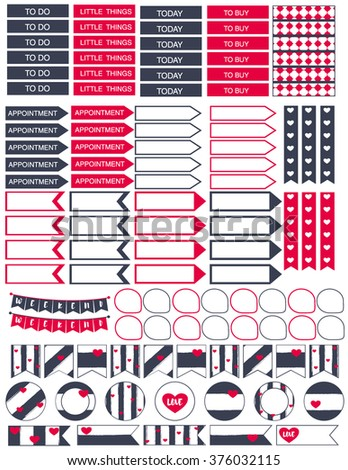Monthly Family Budget Printables | Planner Stickers and ...