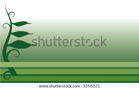 plant background - stock vector