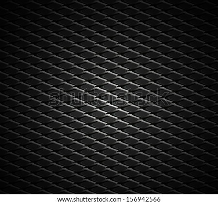 Plastic mesh pattern vector seamless texture background - stock vector